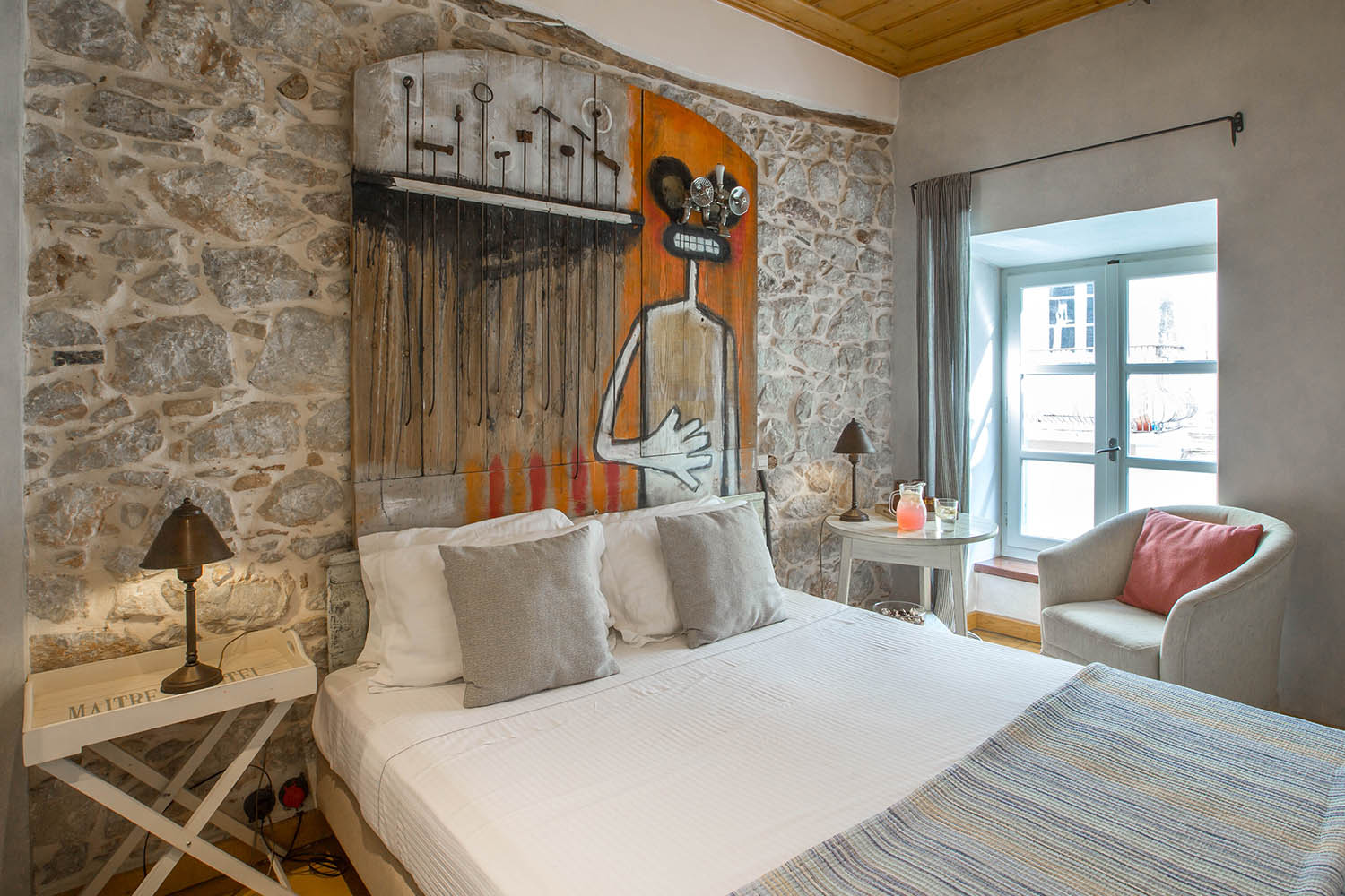 Double room oimi for Design boutique hotel rimini